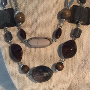 Jewelry - Double layer statement necklace